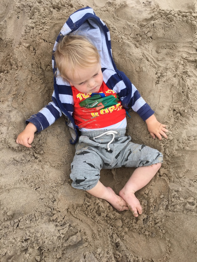 Quinns in the sand
