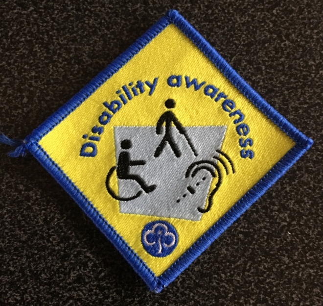 Brownies Disability Awareness Badge